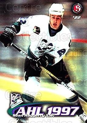 (CI) Sean Haggerty Hockey Card 1997-98 Kentucky Thoroughblades 7 Sean Haggerty