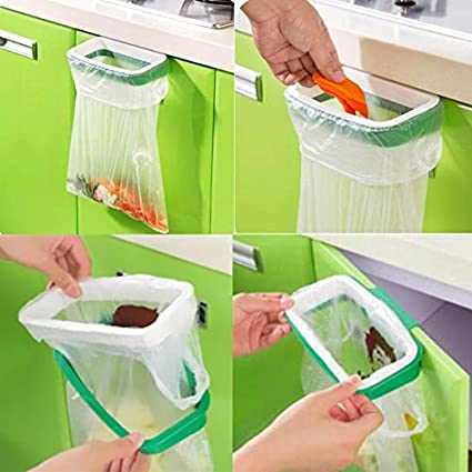 Useful Portable Kitchen Garbage Plastic Bag Mini Rack Holder Tool High Quality