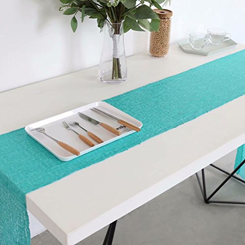 Sequin Buffet Table Runner, Wedding Sequin Tablerunners, 12x72inch Aqua Green