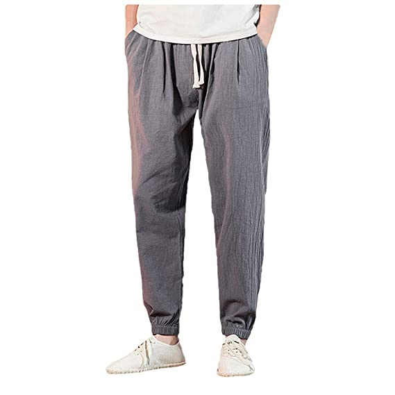 Longra 🌹 🌹 🚵♀️ Pantalón Casual Hombre! Gran tamaño de los ...