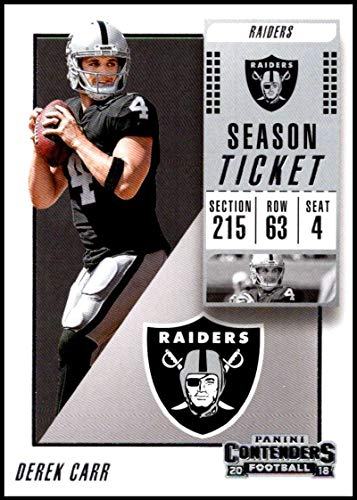 Used, 2018 Contenders NFL Season Ticket (Base) #23 Derek for sale  Delivered anywhere in USA