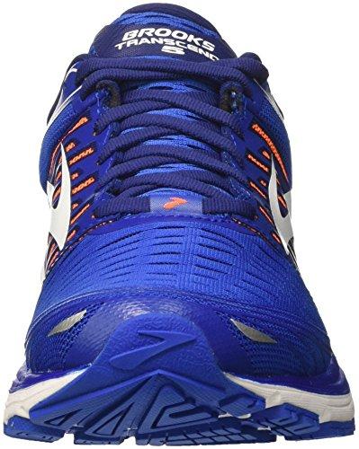Uomo Da orange Transcend Running Blu Scarpe 1d463 white Brooks 5 blue gqPwX7f