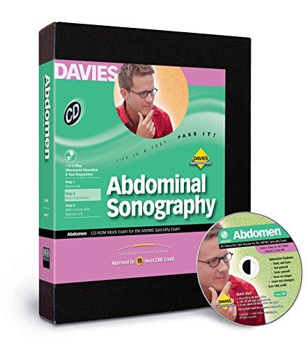 Abdominal Sonography CD-ROM Mock Exam