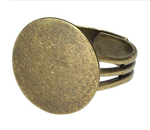 (Adjustable Ring Blanks)