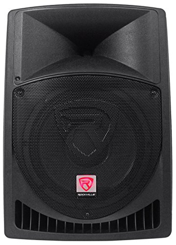 "Rockville RPG12 12"" Powered Active 800 Watt 2-Way DJ PA Speaker System"