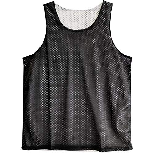 289c8e934 Urban Boundaries Reversible Basketball Jerseys Pinnies for Men and Youth  (Black White