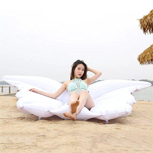 Flotador inflable de la mariposa del ala del ángel con la fiesta de la piscina al aire libre de verano de las válvulas rápidas para los adultos y los ...