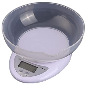JMungS BáScula Digital para Cocina Vaso, Balanza De Alimentos Multifuncional, Prensa De Acero inoxidableDe