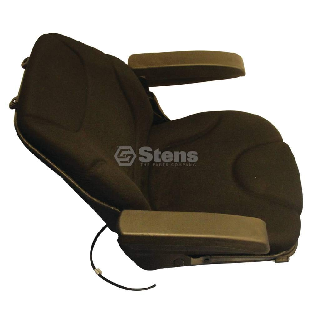 Stens Seat for Pneumatic suspension, black cloth, adjustable