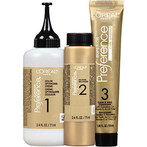 L'Oréal Paris Superior Preference Permanent Hair Color, UL51 Hi-Lift Natural Brown