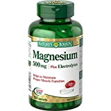 Nature's Bounty Magnesium Plus Electrolytes, 150 Count