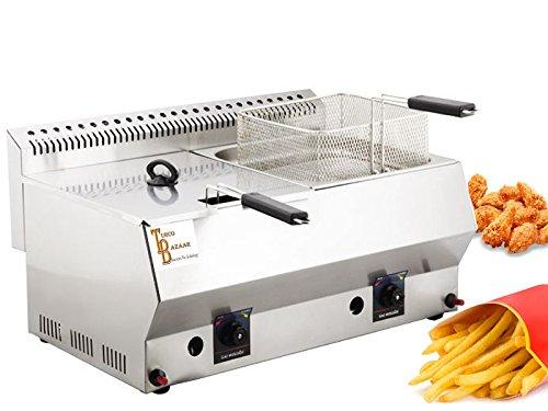 Deep Fryer 16 LT - TB-Industrial Propane - LPG Deep Fryer. C