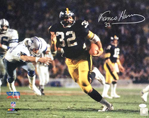 (Franco Harris Signed 16x20 Pittsburgh Steelers Super Bowl XIII Photo JSA)