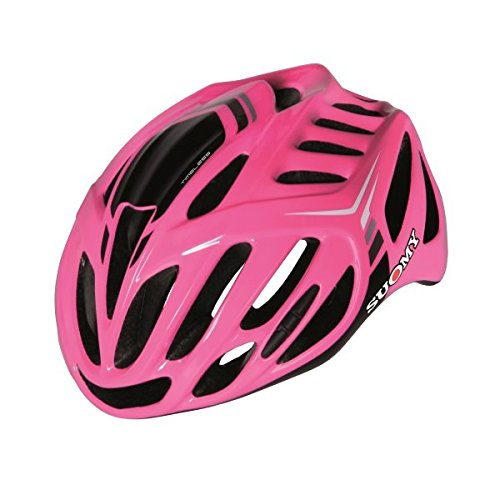 Suomy Timeless Road Cycling Helmet (L/XL, Fuchsia/Anthracite) by Suomy