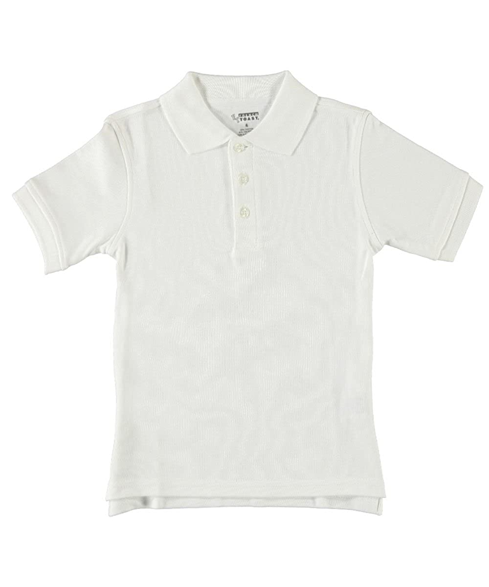 French Toast Little Boys' S/S Knit Polo Shirt 4/5