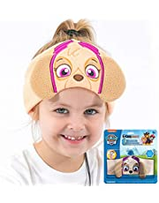Paw Patrol Kids Headphones by CozyPhones - Volume Limited with Thin Speakers & Super Soft Stretchy Headband - Perfect Toddlers & Children's Earphones for School, Home & Travel – Skye