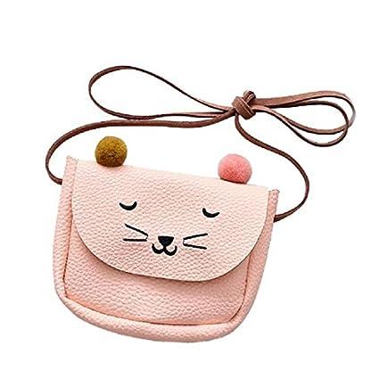 SODIAL Mini bolsa de hombro de oreja de gato lindo Monedero ...