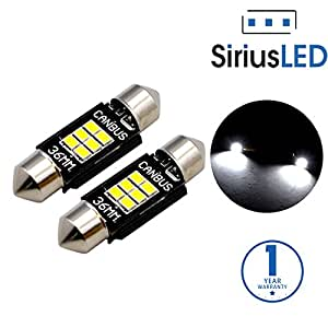 siriusled extremely bright 400 lumens 3020 chipset canbus error free led bulbs for. Black Bedroom Furniture Sets. Home Design Ideas