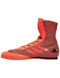 adidas Box Hog Plus Men's Boxing Shoes, Red, US10