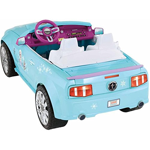 Disney Frozen Ford Mustang Battery-Powered Ride-On, Pink