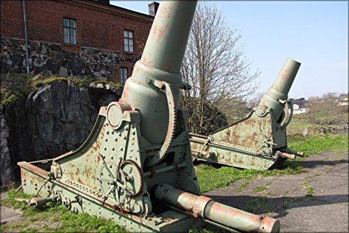 poster model 1877 coastal mortars