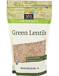 365 Everyday Value, Organic Green Lentils, 16 oz