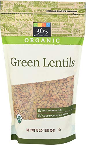 (365 Everyday Value, Organic Green Lentils, 16 oz)