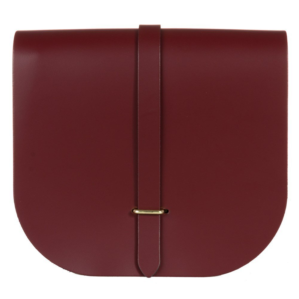 The Cambridge Satchel Company Saddle Womens Cross Body Bag Red