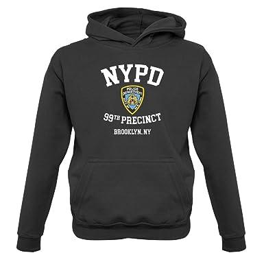 9cbb09f6d Dressdown NYPD 99 - Kids Hoodie - 9 Colours - 1-13 Years: Amazon.co.uk:  Clothing