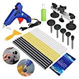 FLY5D® 19Pcs Auoto Body Paintless Dent Removal Repair Tool Kits Bridge Puller Tool Kits