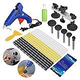 FLY5D® 19Pcs Auoto Body Paintless Dent Removal Repair Tool Kits Bridge Puller Tool Kits