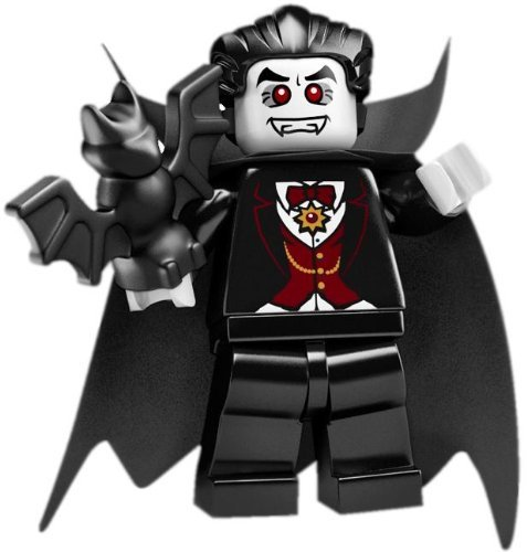 LEGO Series 2 Collectible Minifigures - Vampire Minifigure with Bat -