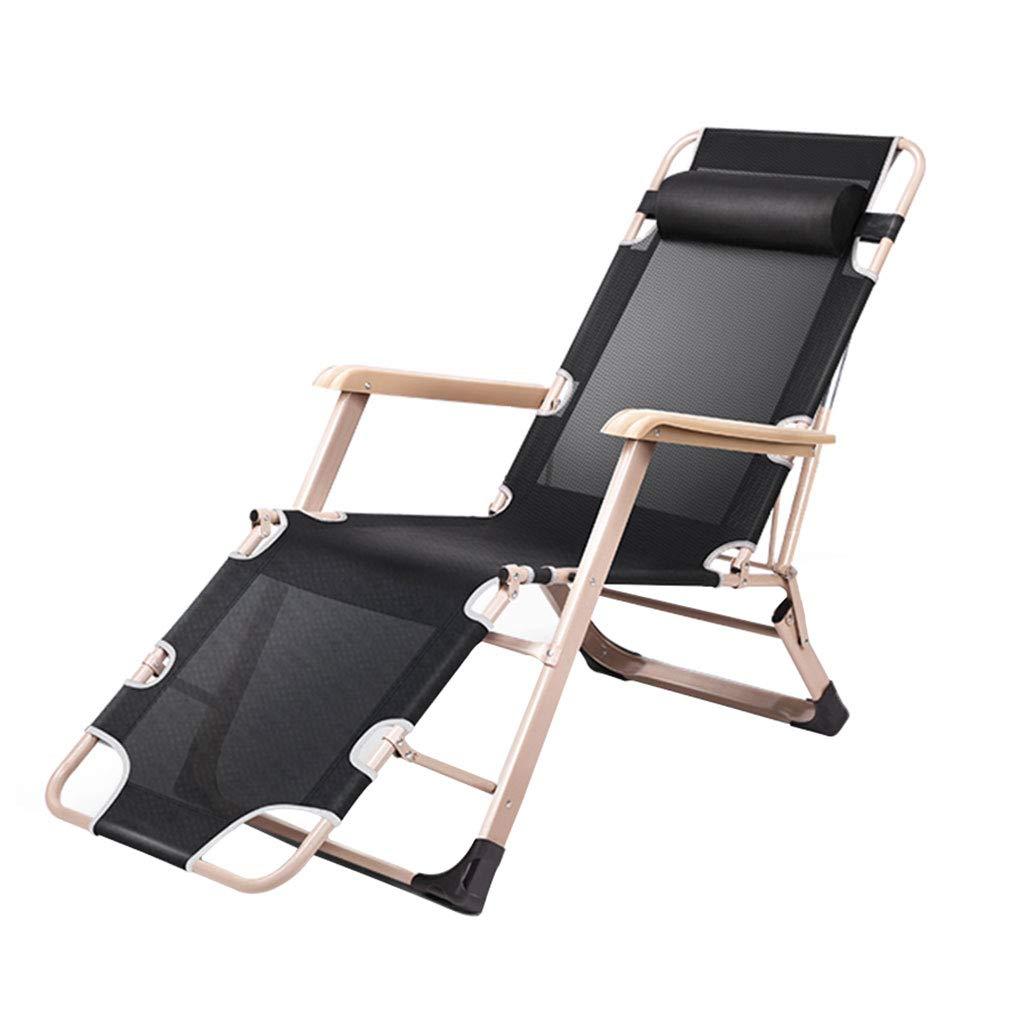 KAI LE Multifunktionsstuhl Klappstuhl, Liegestuhl, Mittagspause Siesta Bett, Freizeit Sitz
