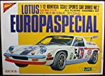 Nichimo 1:12 Lotus Europaspecial Sports Car Plastic Model Kit #MB-1202* by Nichimo