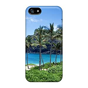 Hot Design Premium TYXLgHT3944jtJWB Tpu Case Cover Iphone 5/5s Protection Case(beach)