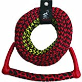 AIRHEAD 3-Section Water Ski Rope with Radius Handle and EVA Grip