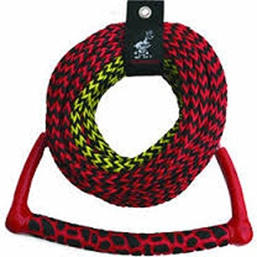 Section 3 Ski (AIRHEAD 3-Section Water Ski Rope with Radius Handle and EVA Grip)