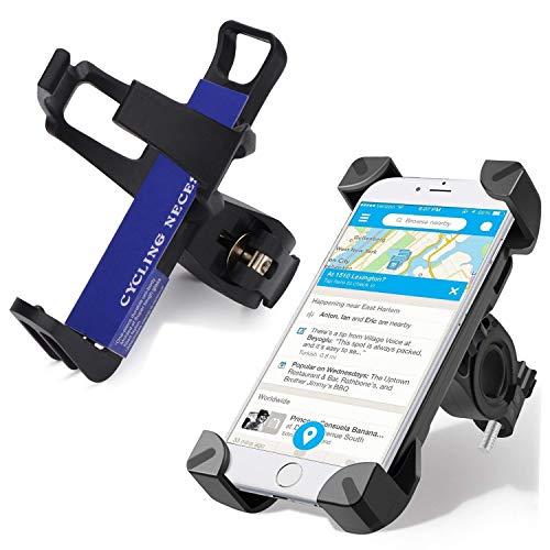 Bottle Water Motorcycle (PXB Bike Phone Mount Water Bottle Holder, Adjustable Bracket Clip Bicycle Handlebar Phone Holder Bottle Stand,for 3.5~7in Mobile Phone GPS,Motorcycle/Mountain Bike/ATV Bicycle Accessories,Black)
