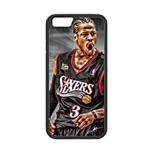 Onshop Custom Allen Iverson Pattern Phone Case Laser Technology for iPhone 6 4.7 Inch
