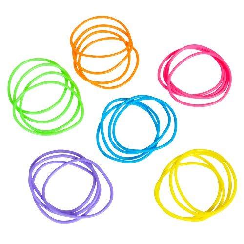 Fun Express Neon Jelly Bracelets 288 ()