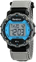 Armitron Sport Men's 40/8291BLGY Grey Strap Digital Chronograph Watch