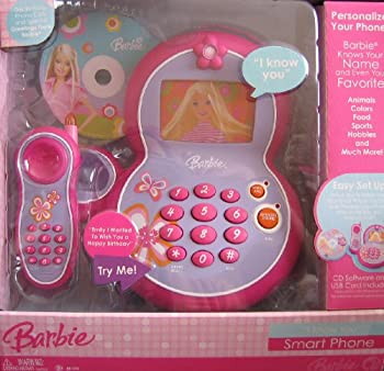 Barbie I Know You Smart Phone W Cd Software & Usb Cord Included (2007) 0