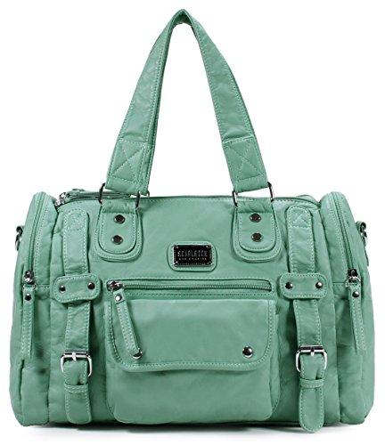 Scarleton Soft Barrel Shoulder Bag H148553 - Mint