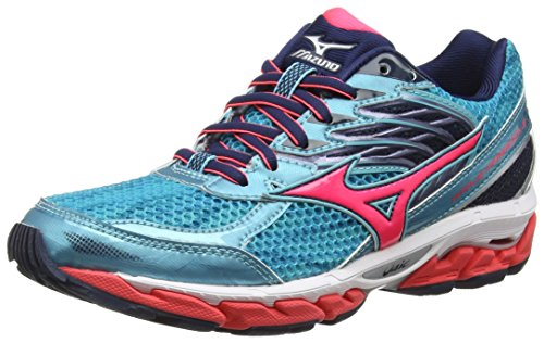 Viscotech Shoes Diva Turquoise Capri Running Pink Women's 3 Wave Mizuno Dress Blues Paradox Bq7wXcH