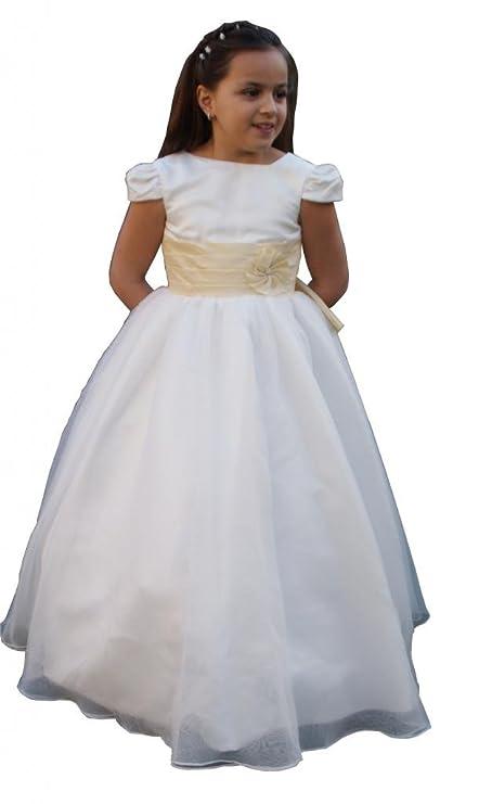 Jessidress Damita de Honor Vestido de Comunion Vestido de Boda Vestido de Ceremonia Fiesta Talla 8