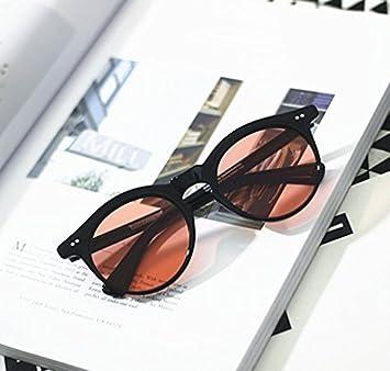 VVIIYJ Lentes Transparentes Jelly Color Gafas de Sol Ovaladas Gafas de Sol Polarizadas Hombres y Mujeres