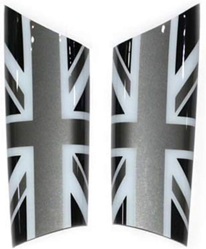 Tirador para Puerta Interior de Coche, diseño de Bandera británica para Mini Cooper JCW R55 Clubman R56 R57 R58 R59