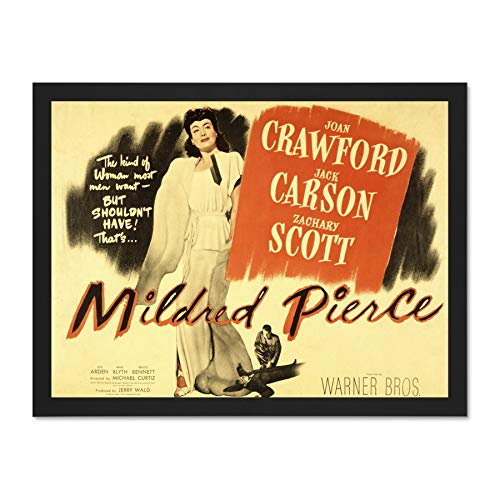 Wee Blue Coo Advertising Movie Film Mildred Pierce Joan Crawford Art Large Framed Art Print Poster Wall Decor 18x24 inch