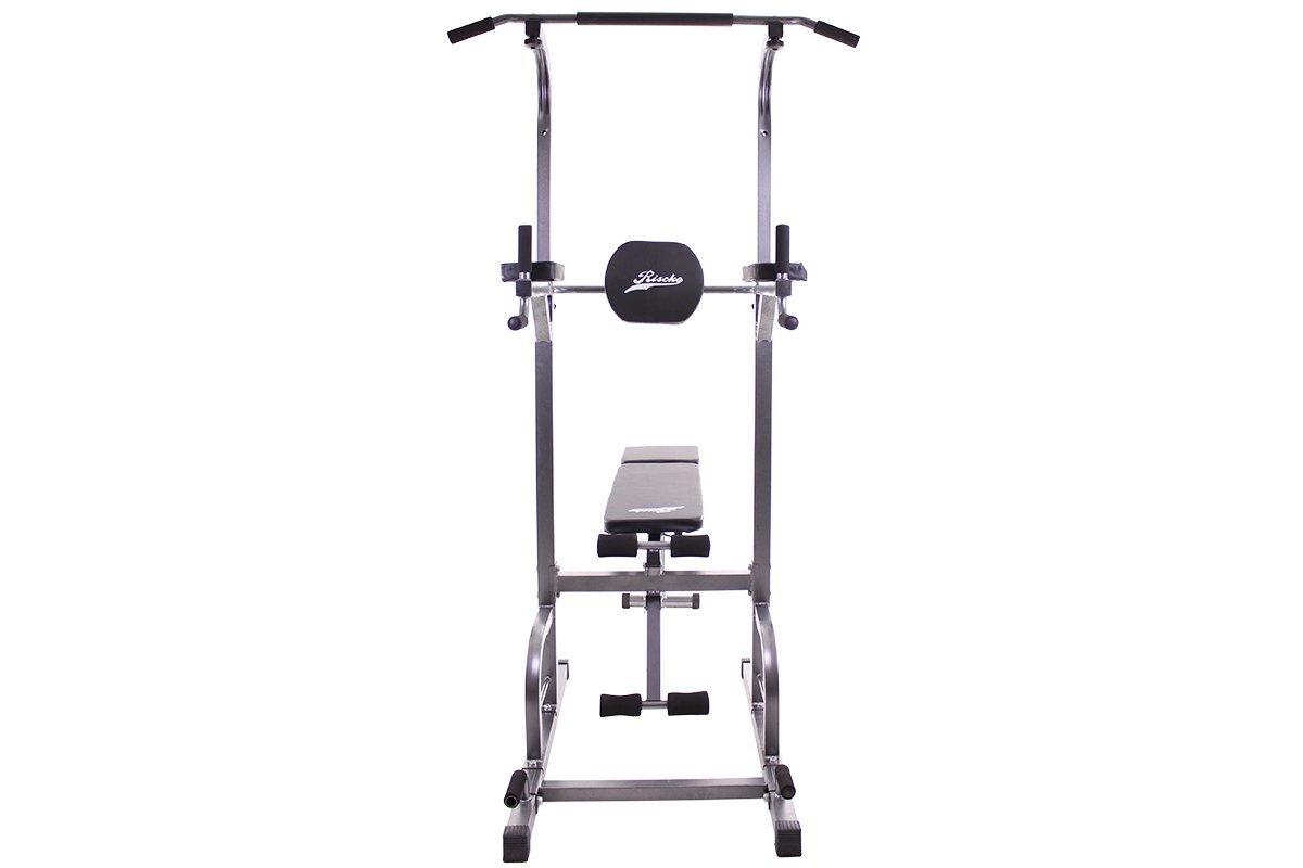 Grupo K-2 Máquina multiestación, Torre de Ejercicios con Banco Plegable para Fitness, musculación, dominadas: Amazon.es: Deportes y aire libre