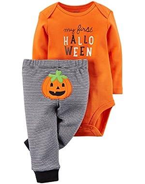 Carter's Baby My First Halloween Bodysuit & Pant Set Unisex